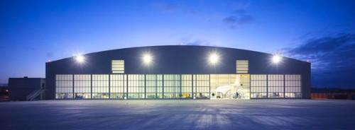 Foto de K. puertas para hangares