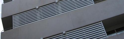 Foto de Celosías lamas continuas de 80 - 100 mm