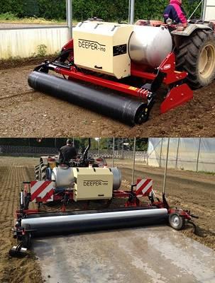 Foto de Máquina para la desinfección del suelo