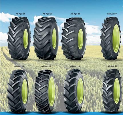 Foto de Neumáticos diagonales estándar