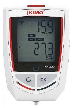 Foto de Registradores temperatura / higrometría / luz