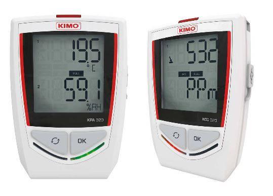 Foto de Registradores de temperatura / higrometría / presión atmosférica / CO2