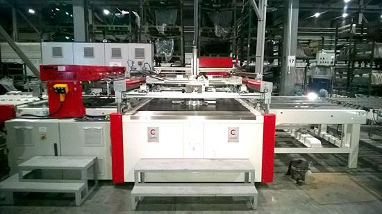 Foto de Máquinas de serigrafía automáticas para vidrio