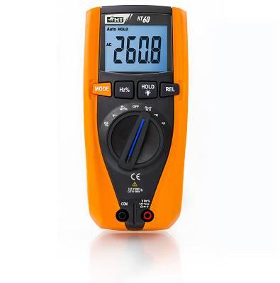 Foto de Multímetros digitales con medida de temperatura