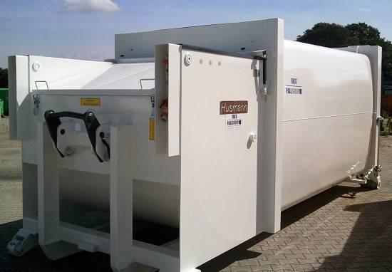Foto de Autocompactador con prensa pendular para residuos orgánicos