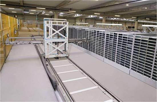 Foto de Sistemas de almacenaje automáticos