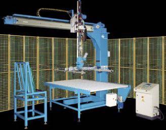 Foto de Robots para carga y descarga automáticos de vidrios