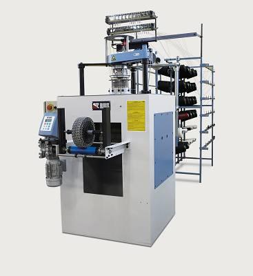 Foto de Máquina circular para la producción de malla tubular elástica