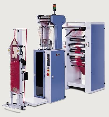 Foto de Máquina circular para la producción de malla tubular para el empaque de fruta