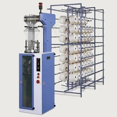Foto de Máquina circular para la producción de malla tubular para industria pesquera