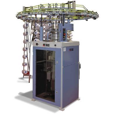 Foto de Máquina circular para la producción de tejidos tubulares de simple jersey