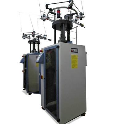 Foto de Máquina circular para la producción de malla tubular de tejido acanalado (RIB)