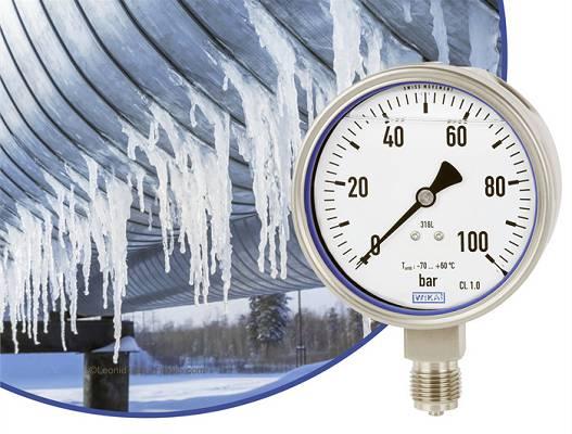 Foto de Manómetros resistentes a bajas temperaturas
