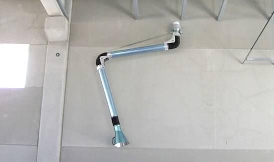Foto de Kit para la aspiración de tubos de escape verticales