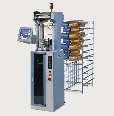 Foto de Máquina circular para la producción de mallas tubulares (electrónica)