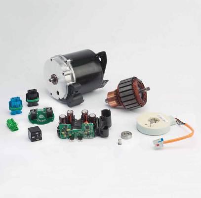 Foto de Componentes y micro chips para direcciones eléctricas EPS y electrónicas