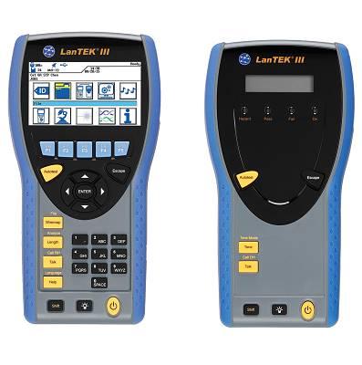 Foto de Certificador de redes Lan y fibra óptica hasta Cat7 con wifi y adaptador PL