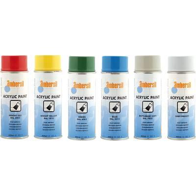 Foto de Pintura acrílica en aerosol disponible en variedad de colores