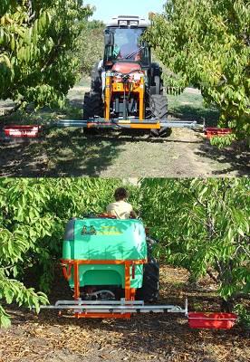 Foto de Barras herbicidas manuales