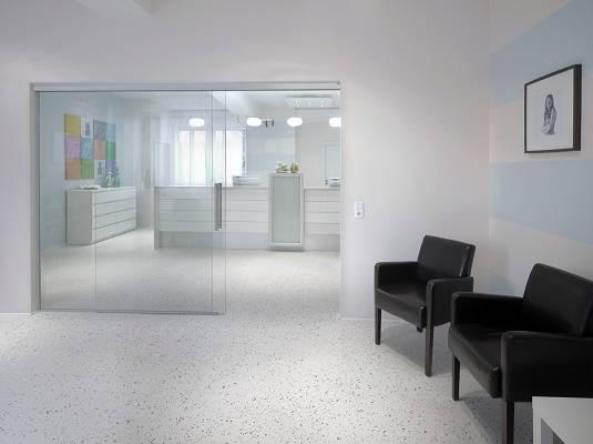 Foto de Sistema de pavimentos decorativo, elástico y confortable