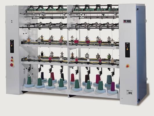 Foto de Máquinas recubridoras para hilos de fantasía y aplicaciones en pasamanería