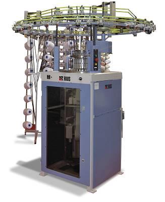 Foto de Máquinas circulares para la producción de tejidos tubulares