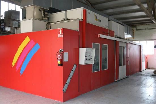 Foto de Servicio de pintura en aplicaciones líquidas