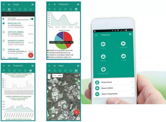Foto de Aplicación móvil para la gestión de cultivos