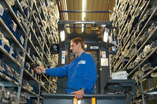 Foto de Organización óptima de almacenes y gestión del picking