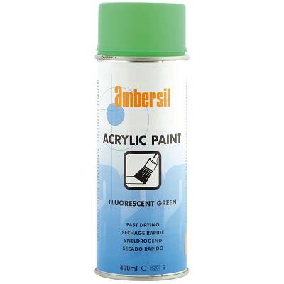 Foto de Pintura acrílica en aerosol en color verde