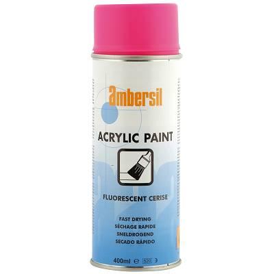 Foto de Pintura acrílica en aerosol en color cereza