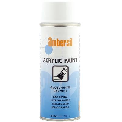 Foto de Pintura acrílica en aerosol en color blanco