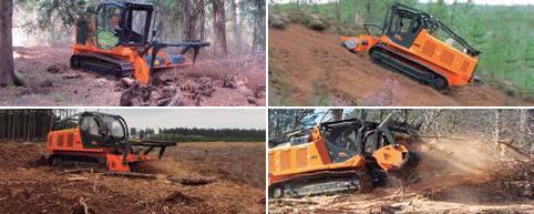 Foto de Vehículos de cadenas para trabajos forestales