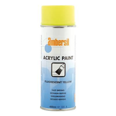 Foto de Pintura acrílica en aerosol en color amarillo