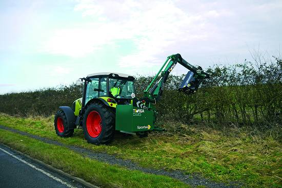 Foto de Brazo desbrozador para tractor