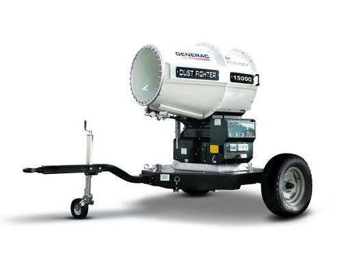 Nebulizadores de agua generac dust fighter df 15000 for Nebulizadores de agua