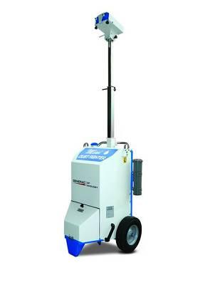 Nebulizadores de agua generac dust fighter df mini obras for Nebulizadores de agua