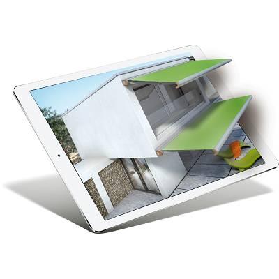 Foto de Aplicación para configurar toldos