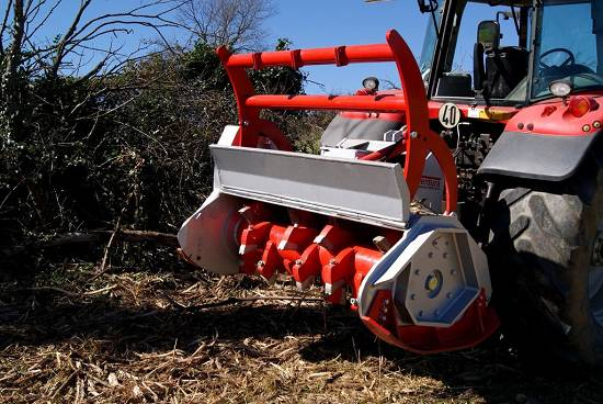Foto de Trituradoras forestales de martillos