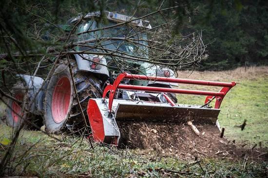 Foto de Trituradoras forestales de doble tracción