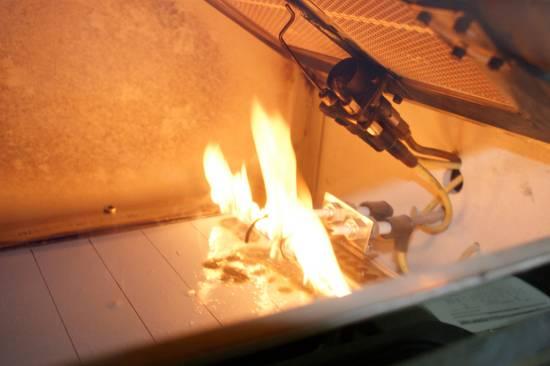 Foto de Análisis de resistencia al fuego para materiales de construcción