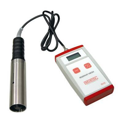 Foto de Resistivímetro digital para pinturas electrostáticas