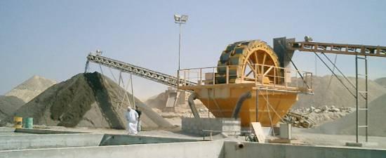 Foto de Equipos de lavado y escurrido de arenas