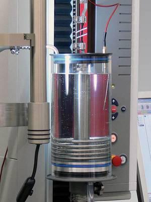 Foto de Recipiente de medios con unidad de control de la temperatura