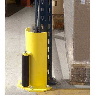 Foto de Protecciones semicirculares para montantes de estanterías