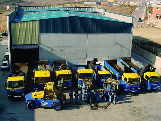 Foto de Transporte de maquinaria