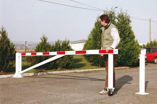 Foto de Barreras de seguridad giratoria con rueda
