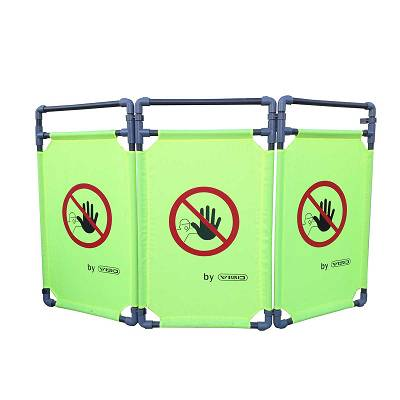 Foto de Barreras plásticas para señalización