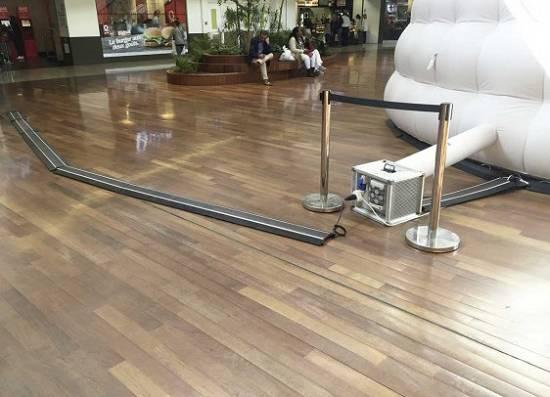 Foto de Protector de cables con múltiples pasos