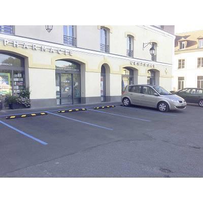 Foto de Topes de caucho para parking